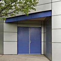 Newberg Glass Hollow Metal Doors